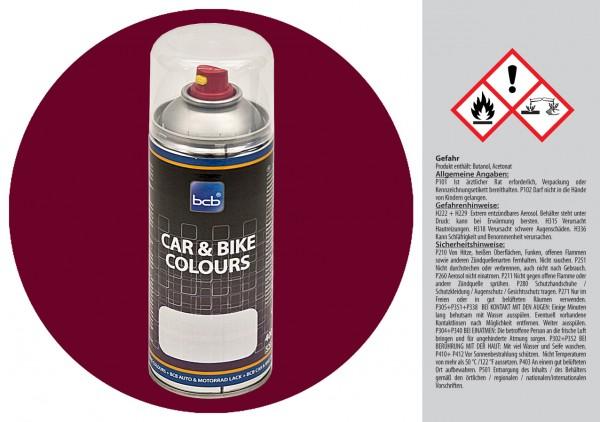 Acryllack in RAL Classic 4004 Bordeauxviolett