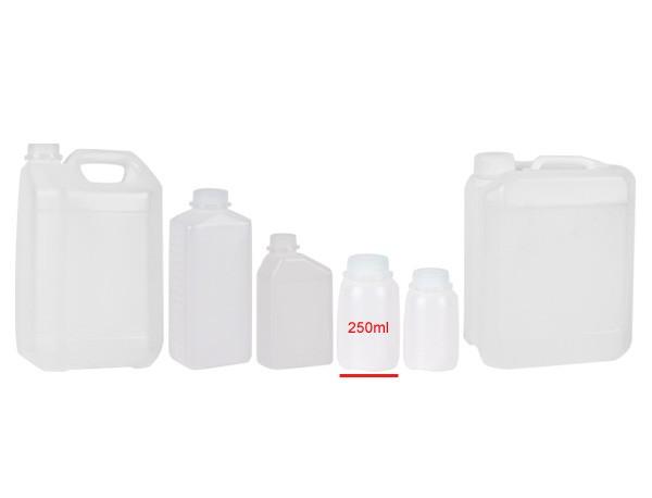 Behälter mit Skala und Verschluss 250ml -10St.