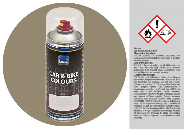 Acryllack in RAL Classic 7034 Gelbgrau