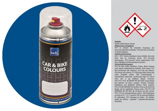 Acryllack in RAL Classic 5007 Brillantblau