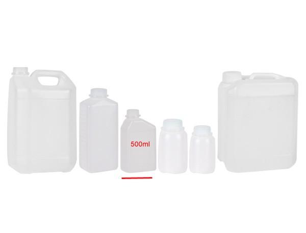 Behälter mit Skala und Verschluss 0,5L - 10St.