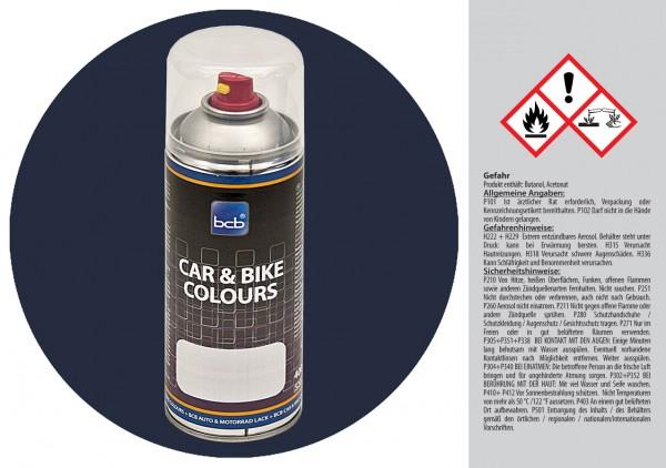 Acryllack in RAL Classic 5011 Stahlblau