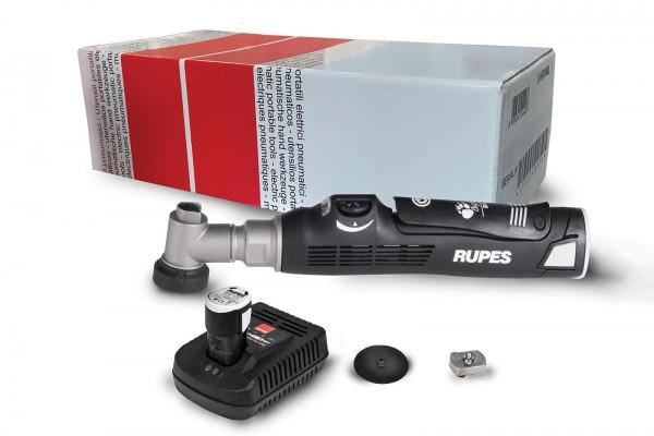 Nano Polierer Short Neck Ø12mm mit 2 Akkus und Polierpad Rupes