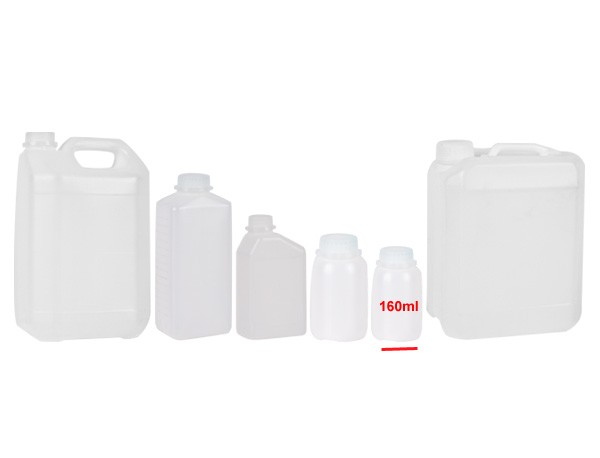 Behälter mit Skala und Verschluss 160ml - 10St.