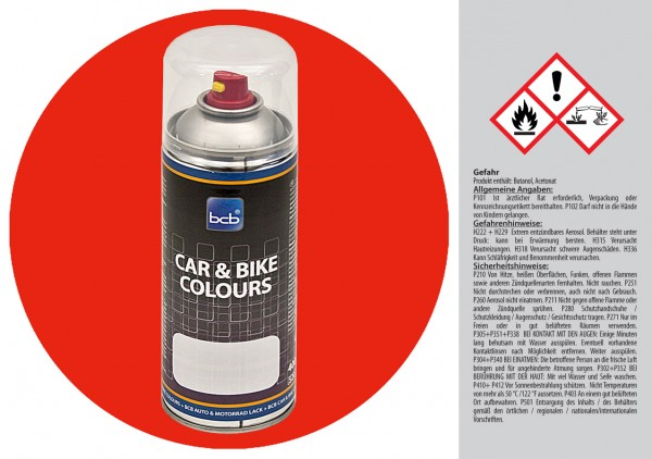 Acryllack in RAL Classic 3028 Reinrot