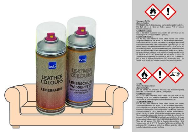 Lederfarbe von BCB mit TopClear Spray für ERPO 150 rot (LIVING)