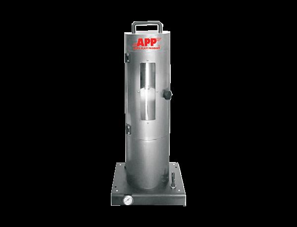 Pneumatische Abfüllmaschine für Spraydosen 150 - 400 ml APP
