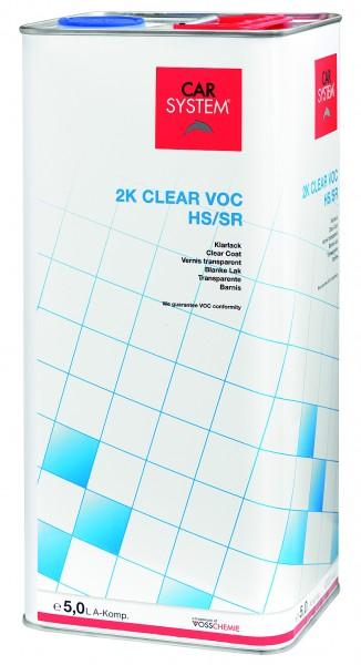 2K Klarlack Clear VOC HS/SR 5,0L CS