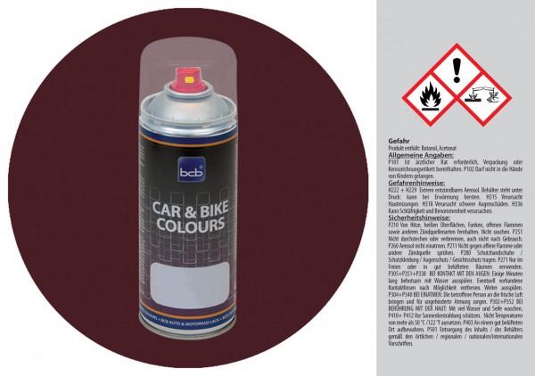 Acryllack in RAL Design 0102015 Kirschenschwarz