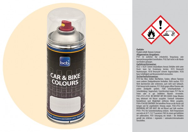 Acryllack in RAL Classic 1015 Hellelfenbein