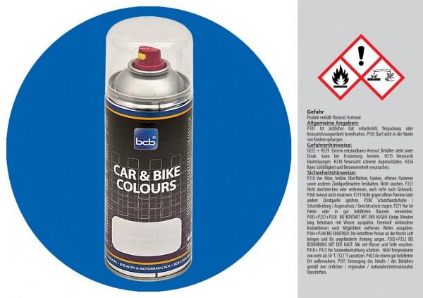 Acryllack in RAL Classic 5015 Himmelblau