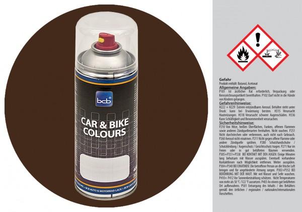 Acryllack in RAL Classic 8028 Terrabraun