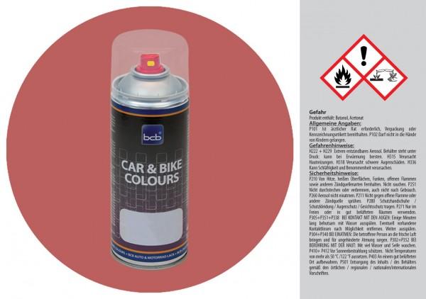 Acryllack in RAL Design 0305030 Lehmrot