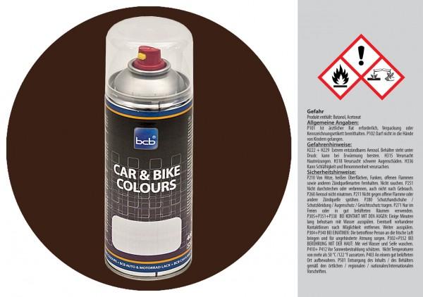 Acryllack in RAL Classic 8014 Sepiabraun