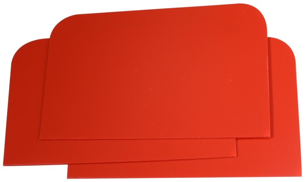Plastikspachtel 115 mm x 77 mm CS - 10St.