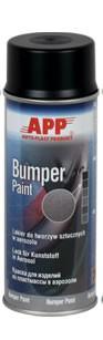 1K Kunststofflack Bumper Paint schwarz Spray APP - 400ml