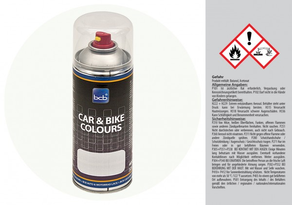 Acryllack in RAL Classic 9016 Verkehrsweiss