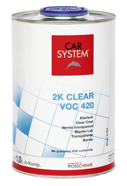2K Klarlack Clear VOC 420 -1L