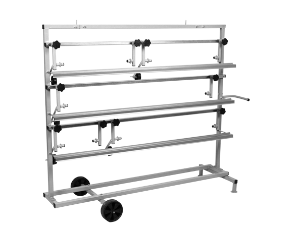 Abrollgerät für fünf Abdeckpapierrollen - 30 bis 120 cm NTools SPM 5