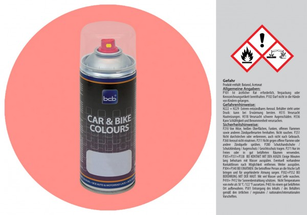 Acryllack in RAL Design 0307040 Flamingorot