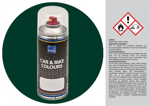 Acryllack in RAL Classic 6004 Blaugrün