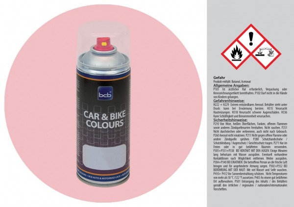 Acryllack in RAL Design 0108015 Eispink