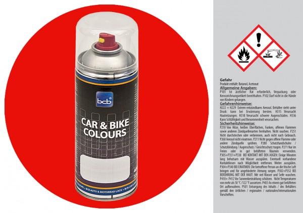 Acryllack in RAL Classic 3020 Verkehrsrot