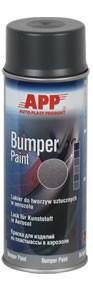 1K Kunststofflack Bumper Paint dunkelgrau Spray APP - 400ml
