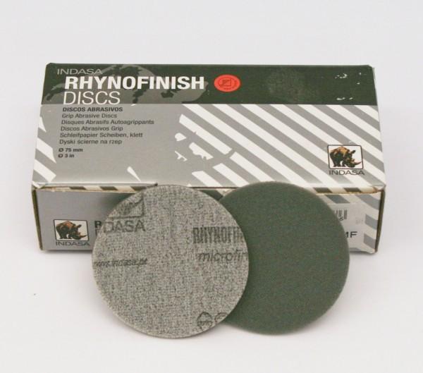 Netzschleifmittel RHYNOFINISH 75mm ungelocht mikro fine P2000 - P2500