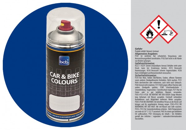 Acryllack in RAL Classic 5017 Verkehrsblau