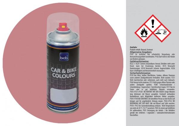 Acryllack in RAL Design 0206020 Retrorosa