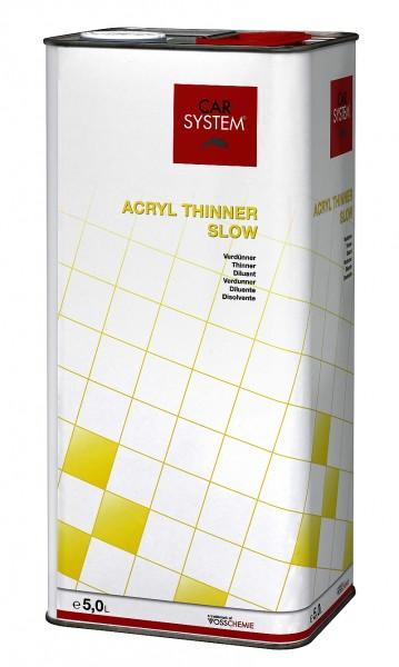 Acryl Thinner slow 5L CS