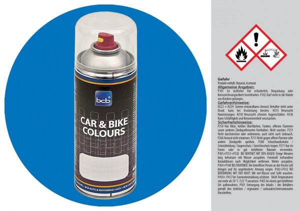 Acryllack in RAL Classic 5012 Lichtblau