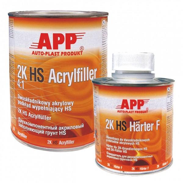 2K HS Acrylfiller 4:1 grau APP - 1L