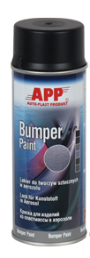 1K Kunststofflack Bumper Paint anthrazit Spray APP - 400ml