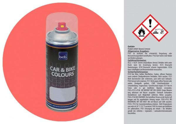 Acryllack in RAL Design 0306050 Kalypsorot
