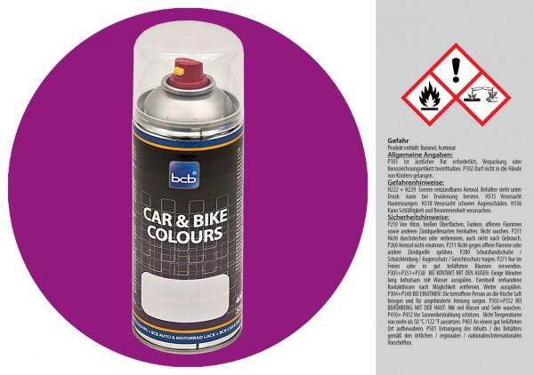 Acryllack in RAL Classic 4008 Signalviolett