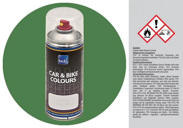 Acryllack in RAL Classic 6011 Resedagrün