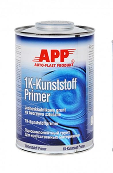 1K Kunststoff Primer transparent-silber APP - 1L