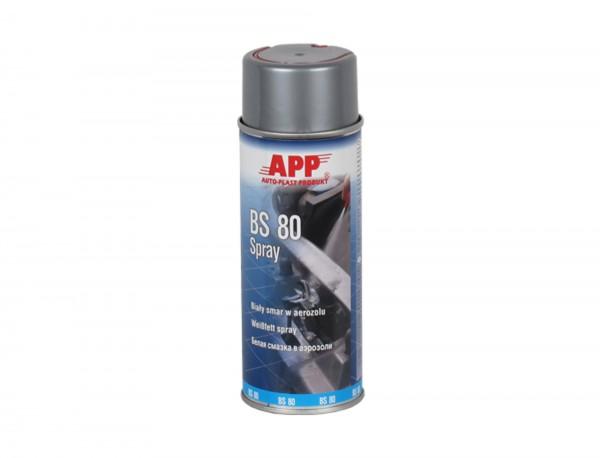 Schmiermittel Weißfett BS80 Spray APP - 400ml