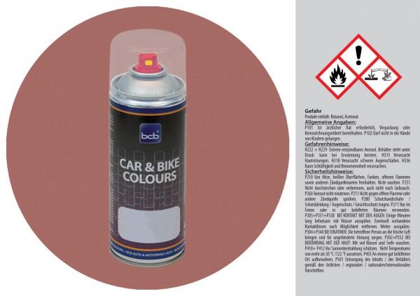 Acryllack in RAL Design 0305020 Terracottarotbraun
