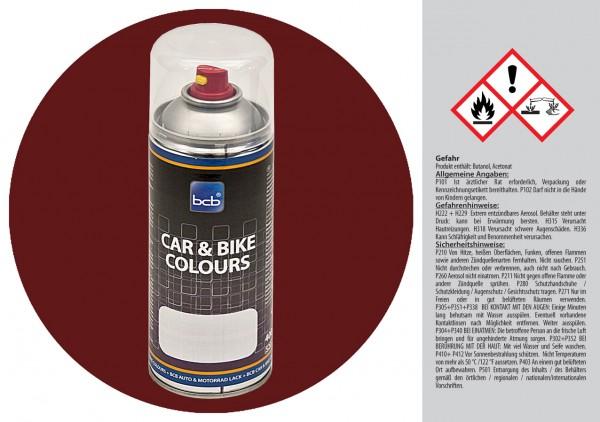 Acryllack in RAL Classic 8012 Rotbraun