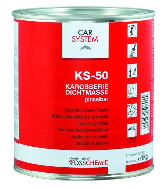 Karosserie-Dichtmasse grau - pinselbar KS-50 CS