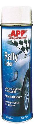Rally Color Acryllack weiß glänzend APP - 500ml