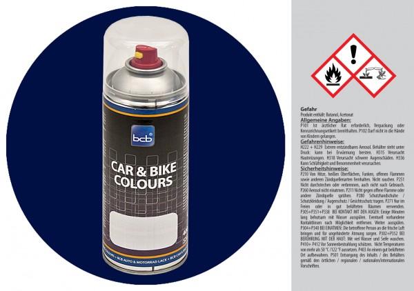 Acryllack in RAL Classic 5003 Saphirblau