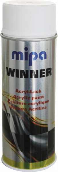 Acryl-Lack Winner Spray weiss matt