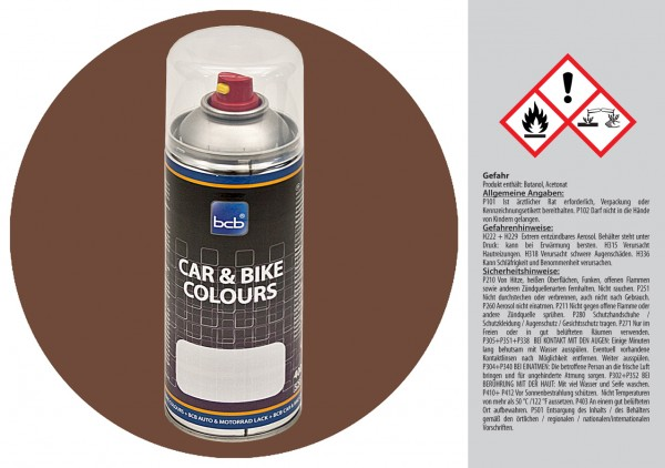 Acryllack in RAL Classic 8025 Blassbraun