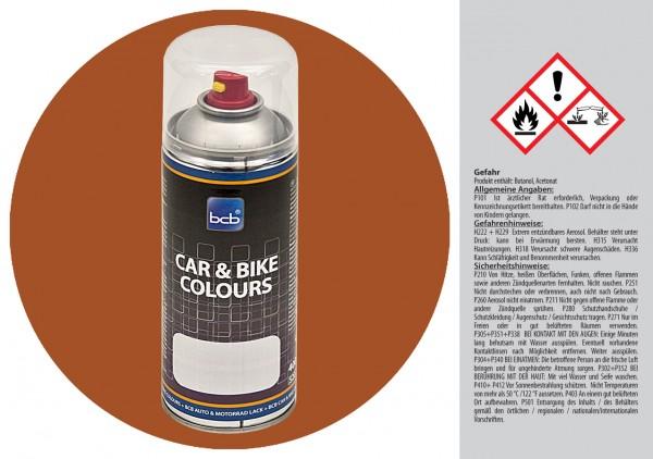 Acryllack in RAL Classic 8001 Ockerbraun