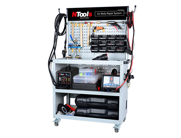 Ausbeulsystem NTools CAR BODY REPAIR SYSTEM Premium