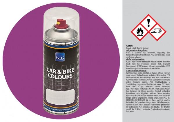 Acryllack in RAL Classic 4001 Rotlila
